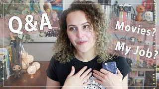 Download Q&A - Movie chats and finally explaining about my job Video