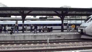 Download train to copenhagen in Lund station sweden Video