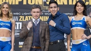 Download CARL FRAMPTON VS LEO SANTA CRUZ PRESS CONFERENCE - EsNews Boxing Video