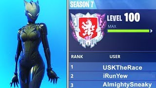 Download WORLDS FIRST LEVEL ″100″ IN FORTNITE BATTLE ROYALE SEASON 7! WORLDS FIRST LIVE (FORTNITE) Video