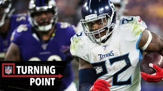Download How Derrick Henry Pulled a Tebow to Beat the #1 Ravens | NFL Turning Point Video