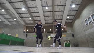 Download F2Freestylers Practice Session! Crazy Football Skills | Football Freestyle Double Act / Duo Video