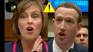Download Congresswoman Won't Let Mark Zuckerberg WEASAL His Way Out Of Her Question About Tracking People! Video