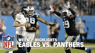 Download Eagles vs. Panthers   Week 7 Highlights   NFL Video