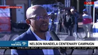 Download Nelson Mandela centenary campaign Video