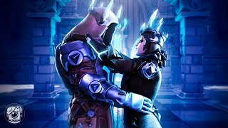Download ICE QUEEN FALLS IN LOVE WITH ICE KING *ICE STORM EVENT*- A Fortnite Short Film Video