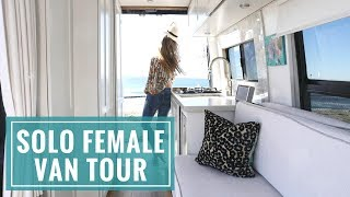 Download VAN LIFE TOUR: The Ultimate Solo Female Van | Wild by the Mile + 40 Hours of Freedom Video