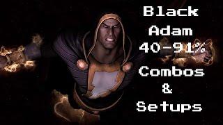 Download IGAU:Black Adam Combos (40-91%) Video