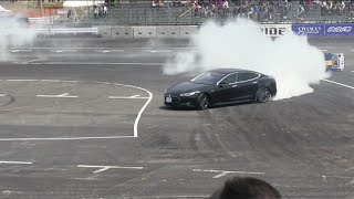 Download Drifting TESLA Model S Video
