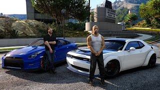 Download GTA V | VIN DIESEL VS PAUL WALKER | DRAG RACE ✪ FAST 8 Video