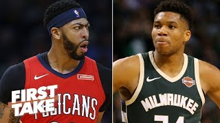 Download Stephen A. rants: Anthony Davis is better than The Greek Freak | First Take Video