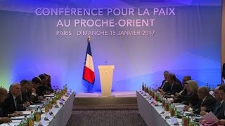 Download With eye on Trump, French summit tries to revive Mideast peace Video