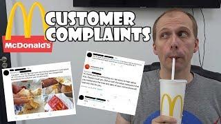 Download McDonalds Customer Complaints Video