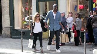 Download EXCLUSIVE - Kobe Bryant and wife Vanessa show PDA in Paris Video