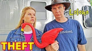 Download THEFT & RV CAMPING - ″Will other campers steal my stuff?!″ (Someone stole Kristy's! 😩) Video