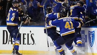 Download Tarasenko scores pair to help Blues even series with Predators Video