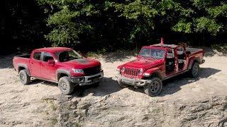 Download Off-Road Comparison: Can the Gladiator Rubicon Dethrone the Colorado ZR2? Video