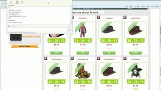 Download swoopo like clone in action Video