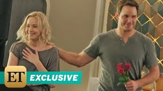 Download EXCLUSIVE: Jennifer Lawrence and Chris Pratt Fall in Love on the Space-Age Set of 'Passengers' Video