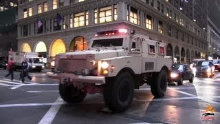 Download Heavy armored SWAT truck FBI + 2 unmarked cars - 1000th video !!! Video