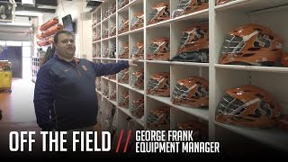 Download Off the Field: Syracuse Lacrosse Equipment Room Tour Video