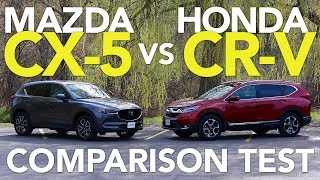Download 2017 Mazda CX-5 vs 2017 Honda CR-V Comparison Test Video