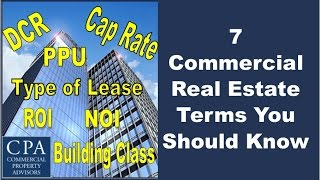 Download 7 Commercial Real Estate Terms You Should Know Video