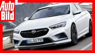 Download Opel Insignia OPC (2018) - Insignia im Sportdress Video