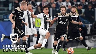 Download Juventus 1-2 Ajax – GOLES Y RESUMEN – VUELTA CUARTOS DE FINAL – UEFA Champions League Video