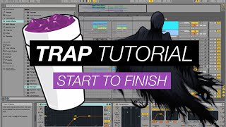 Download Trap Beat from Scratch - Ableton Beginners Tutorial with k-pizza - Part 1 Video