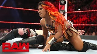 Download Sasha Banks vs. Ember Moon vs. Ruby Riott - Money in the Bank Qualifying Match: Raw, May 7, 2018 Video