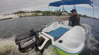 Download Peddle Boat with a Gas Motor! Video