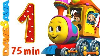 Download Numbers Song Collection | Number Train 1 to 10 | Counting Songs and Numbers Songs from Dave and Ava Video