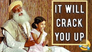 Download Sadhguru funniest and wittiest moments Video