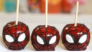 Download SPIDERMAN CANDY APPLES - NERDY NUMMIES Video