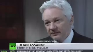 Download 'Trump would not be permitted to win' - Assange interview w/John Pilger (Courtesy Darthmouth Films) Video