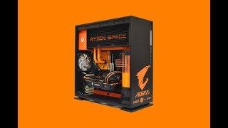 Download RYZEN SPACE - 3000 € - Custom GAMING PC - case mod Video