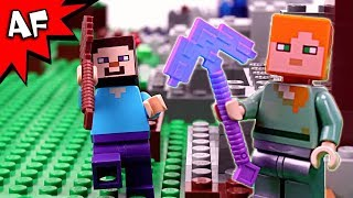 Download Lego Minecraft: the NEWBs vs the PROs Video