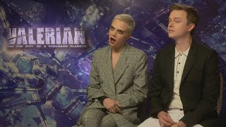 Download Valerian: Cara Delevingne is mind-blown learning something new Video