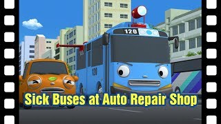 Download 📽Sick buses at auto repair shop l Tayo's Little Theater #12 l Tayo the Little Bus Video