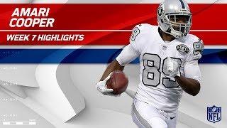 Download Amari Cooper's Breakout Night w/ 210 Yards & 2 TDs   Chiefs vs. Raiders   Wk 7 Player Highlights Video