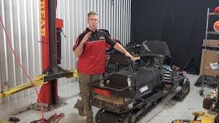 Download Yamaha VK540 track upgrade 1.5 inch Camoplast Cobra WT! PowerModz does it first!! Video