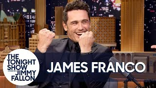 Download James Franco Does His Impression of The Room's Tommy Wiseau Video