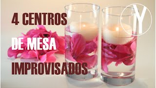 Download 4 Centros de Mesa Improvisados - YOCOMO Video
