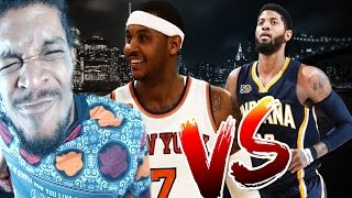 Download THE GREATEST COMEBACK OF THE YEAR! NEW YORK KNICKS vs INDIANA PACERS HIGHLIGHTS REACTION Video