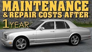 Download Ownership Costs After 1 Year | Owning A Bentley Arnage - Video 15 Video
