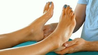 Download HD Relaxing Foot Massage Tutorial: How to Massage Feet, Relaxing Music & Spa Techniques, 60 fps Video