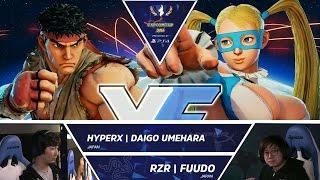 Download HyperX Daigo Umehara vs RZR Fuudo - Capcom Cup 2016 Day 1 Top 16 - CPT2016 Video