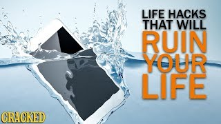 Download 4 Life Hacks that Will Ruin Your Life Video