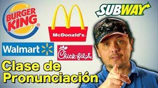 Download Cómo Pronunciar nombres de Restaurantes y Supermercados que frecuentas! Video